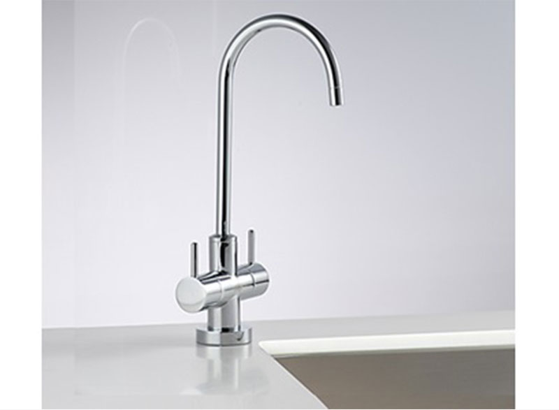 Zip ChillTap Extra® under-bench instant chilled and ambient filtered drinking water appliance.