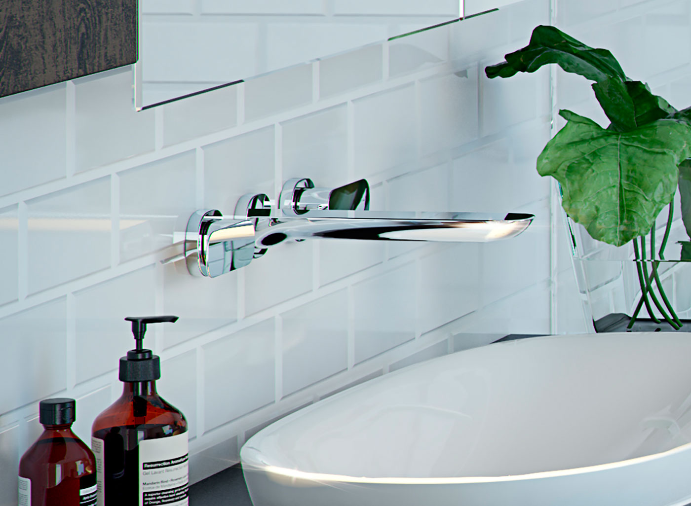 Contura tapware is meticulously detailed and