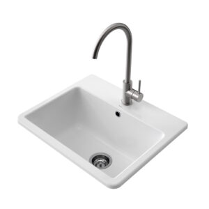 The Cubus Laundry Basin offers a contemporary rectangular style with distinctive clean lines. Made in Italy