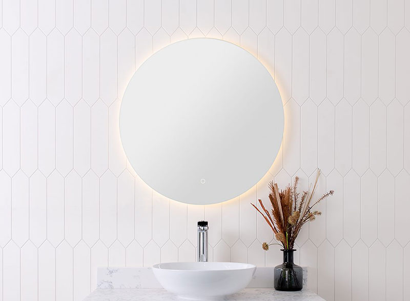 The unique design of the Eclipse LED mirror often makes them the centrepiece of the bathroom that attracts all the attention.
