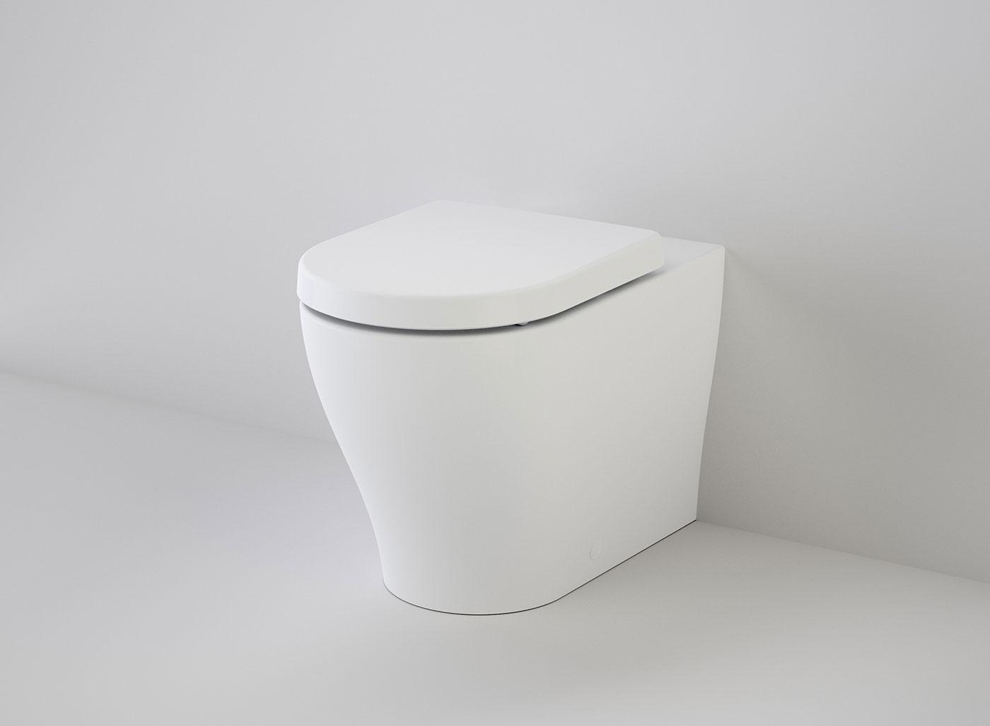 luna cleanflush invisi ii wall faced toilet suite soft close 3