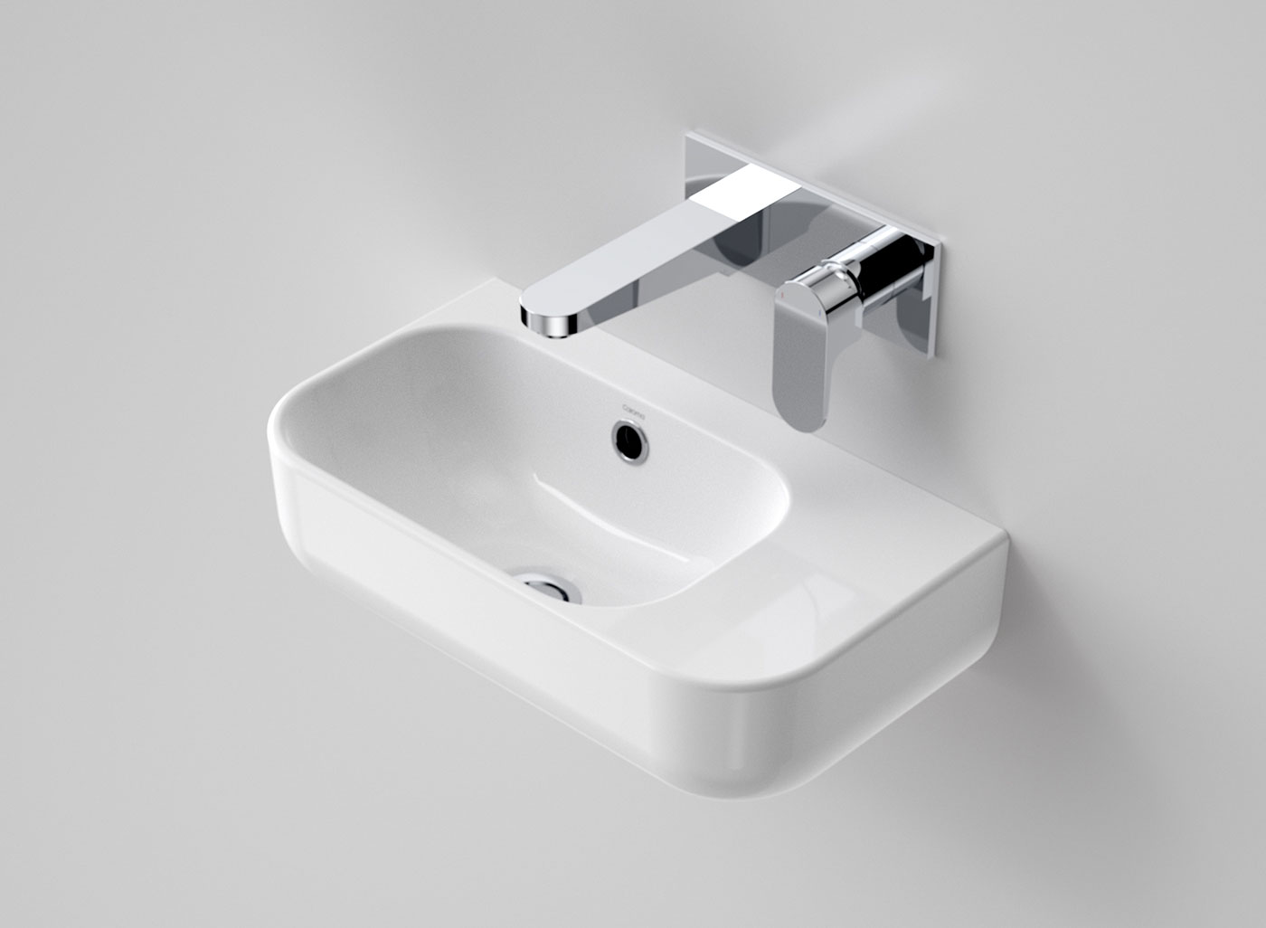 subdued curves of Luna will effortlessly flow into any contemporary bathroom. Team up with the rest of the Luna collection for a stylish