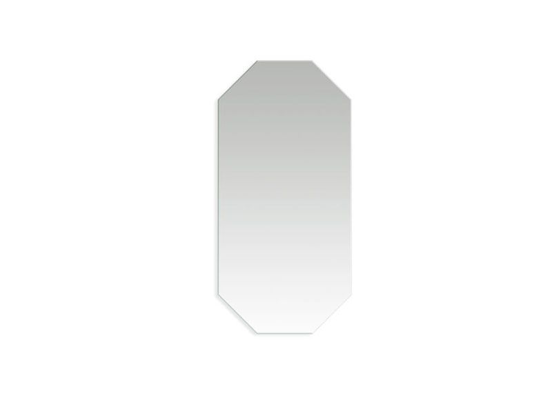 A well placed mirror can double the light or make the most of a view. The right shaped mirror can also be a great way to add flair and interest. The otto dresses up walls with a minimalist-meets-modern feel.