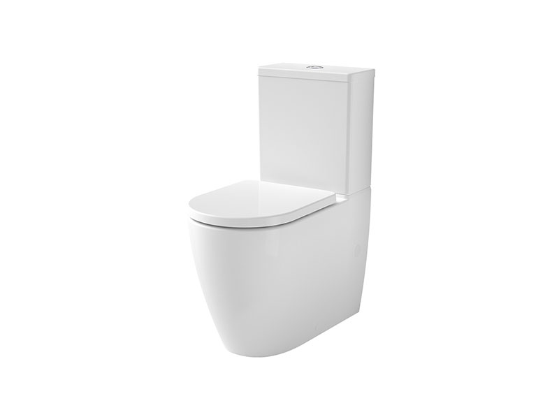 Caroma's Urbane II Collection of toilets have a contemporary low-profile design to match the Urbane II basins