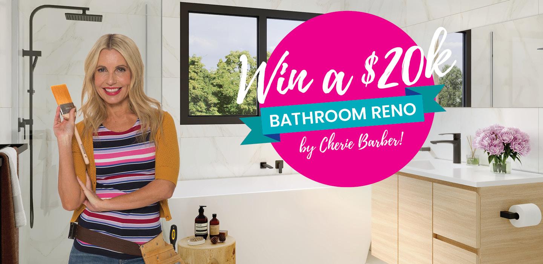 Cherie Barber Bathroom Bundle Promo Header