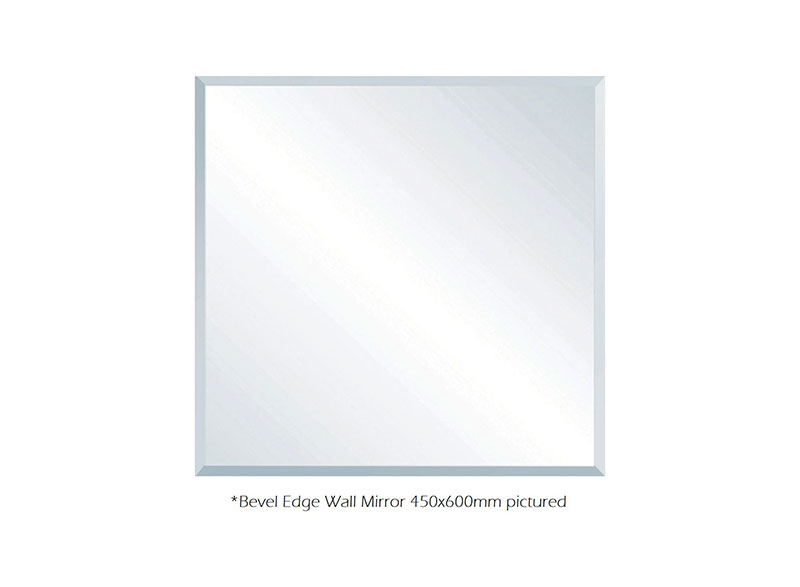 Fienza mirrors are treated with resin emulsion paint to prevent moisture from getting behind the mirror. This helps prevent black spots of corrosion forming around the edges